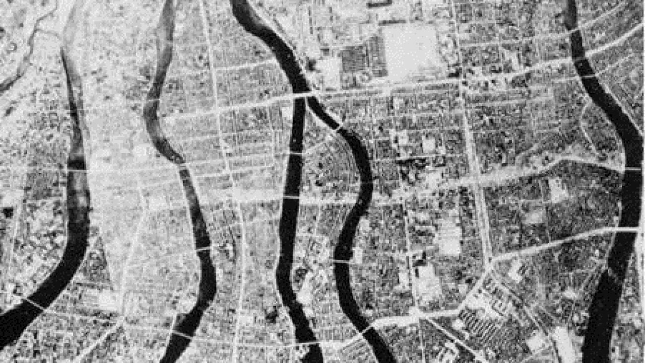 Hiroshima vor der Atombombe