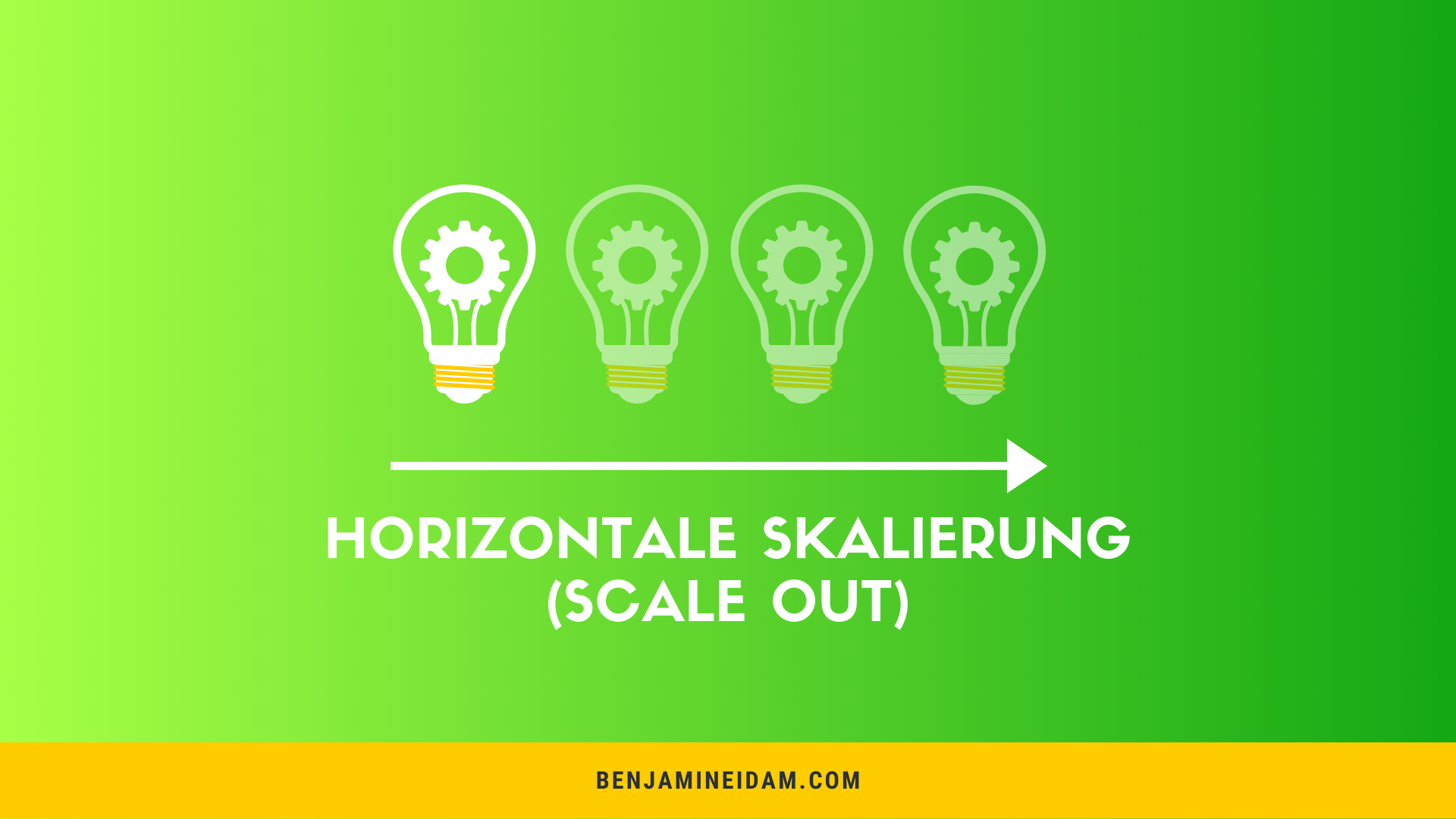 Horizontale Skalierbarkeit - Scale out