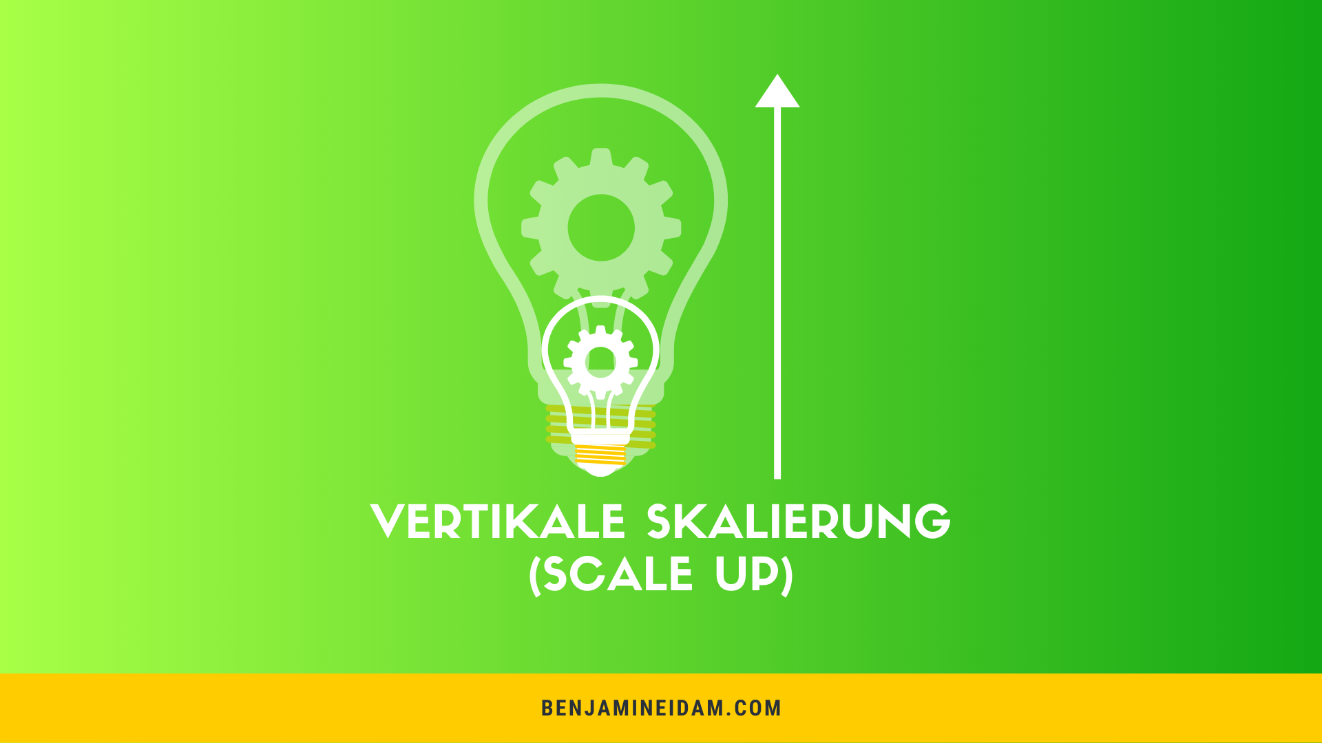 Vertikale Skalierbarkeit - Scale Up