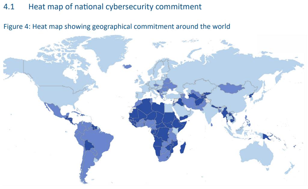 Einer der vielen global Cyber Security Indizes